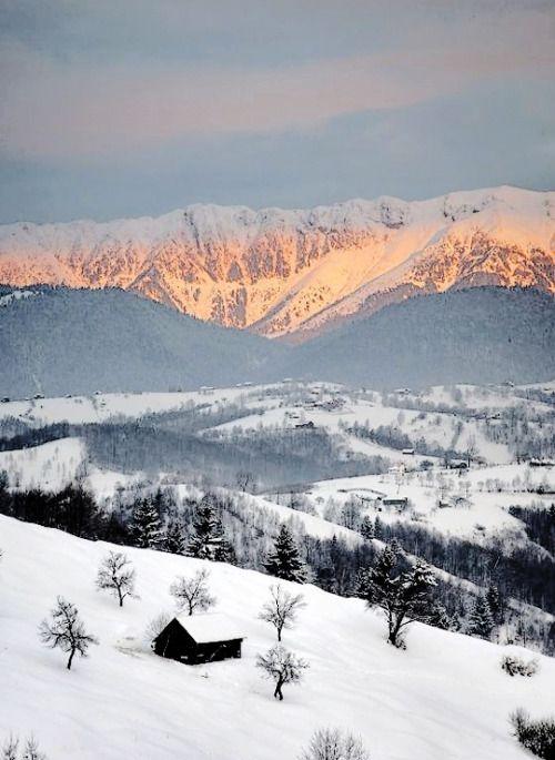 Munţii Bucegi, Culoarul Rucăr - Bran | Bucegi Mountains, Rucăr -...