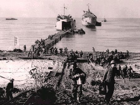 Licata: Luglio 1943 Sbarco delle truppe anglo-americane.Video