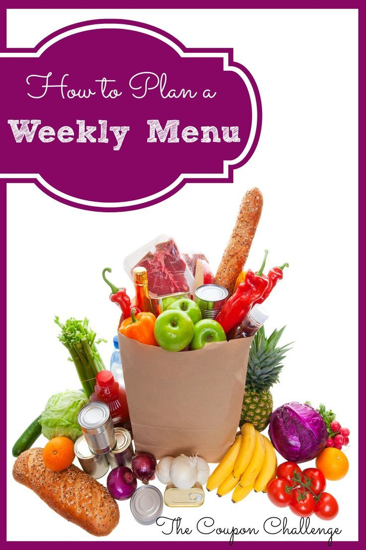 Do you find yourself struggling for dinner ideas at the last minute or heading through the drive-through after work? If you do, consider creating a menu plan to help take the stress out of mealtime.