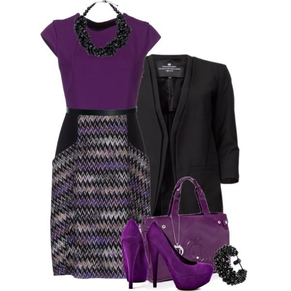 Featuring Shayla - Purple JustFab