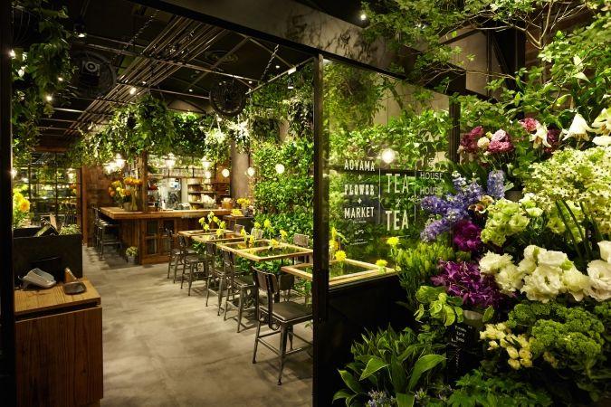 Aoyama Flower Market TEA HOUSE (http://wall.ac)