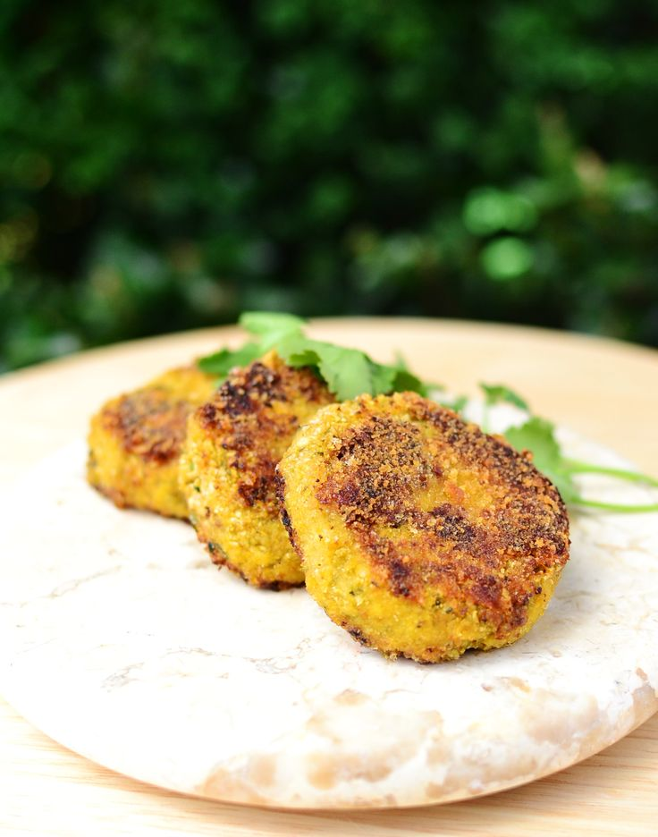 Cauliflower cheese patties  recipe - Foodista.com