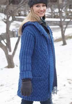17 migliori immagini su Knit Sweater Coats, Jackets ...