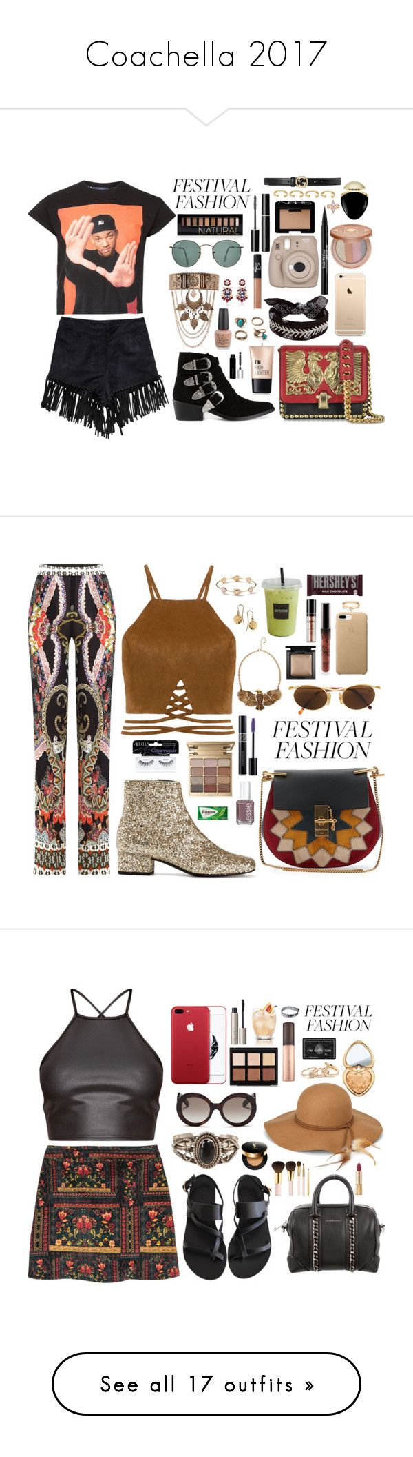 """Coachella 2017"" by thecaitlinpeters ❤ liked on Polyvore featuring Topman, Roberto Cavalli, Ray-Ban, NLY Trend, New Look, Toga, Fallon, tarte, Charlotte Russe and NARS Cosmetics"