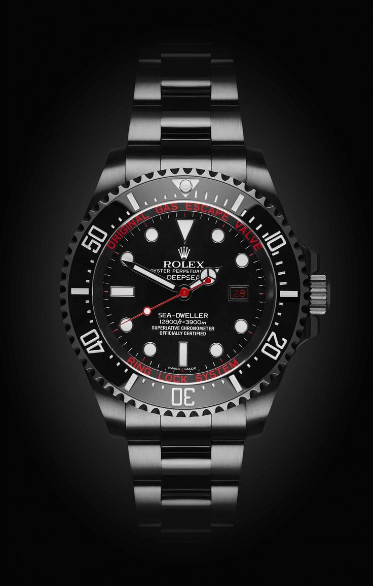 Rolex Deep Sea: Deep Red with DLC.