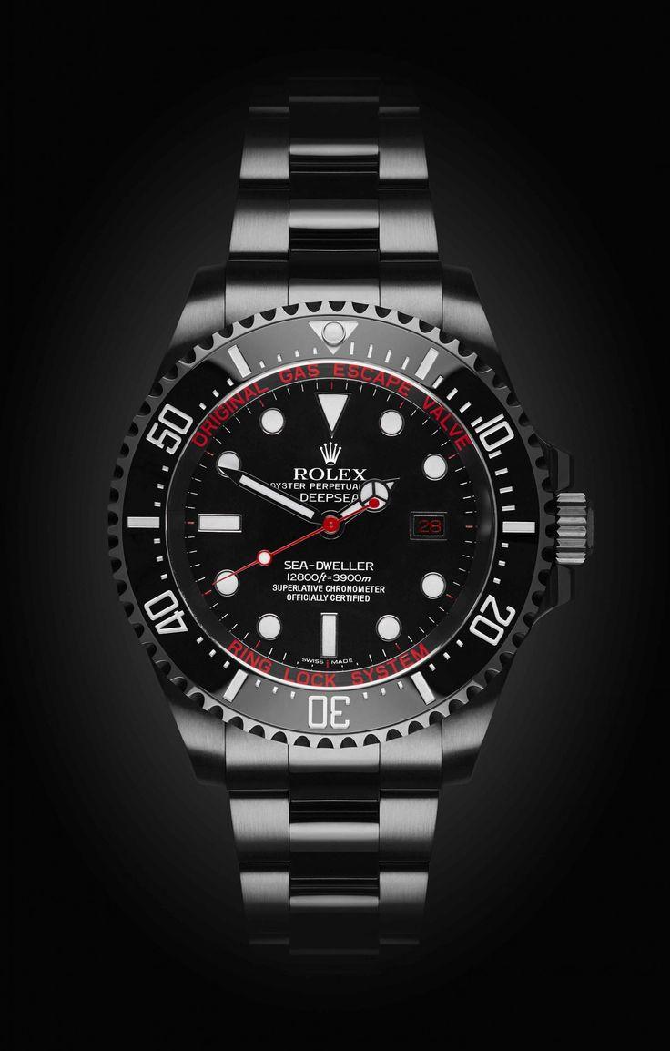 Rolex Deep Sea: Deep Red with DLC.