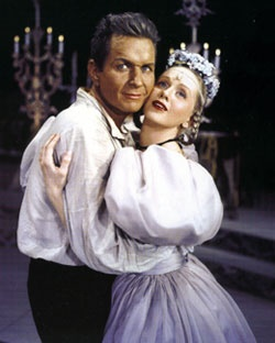 003 Robert Rounseville and Barbara Cook in Candide (Photo from