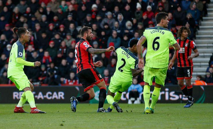 Bournemouth Steve Cook skóre Ich tretí gól