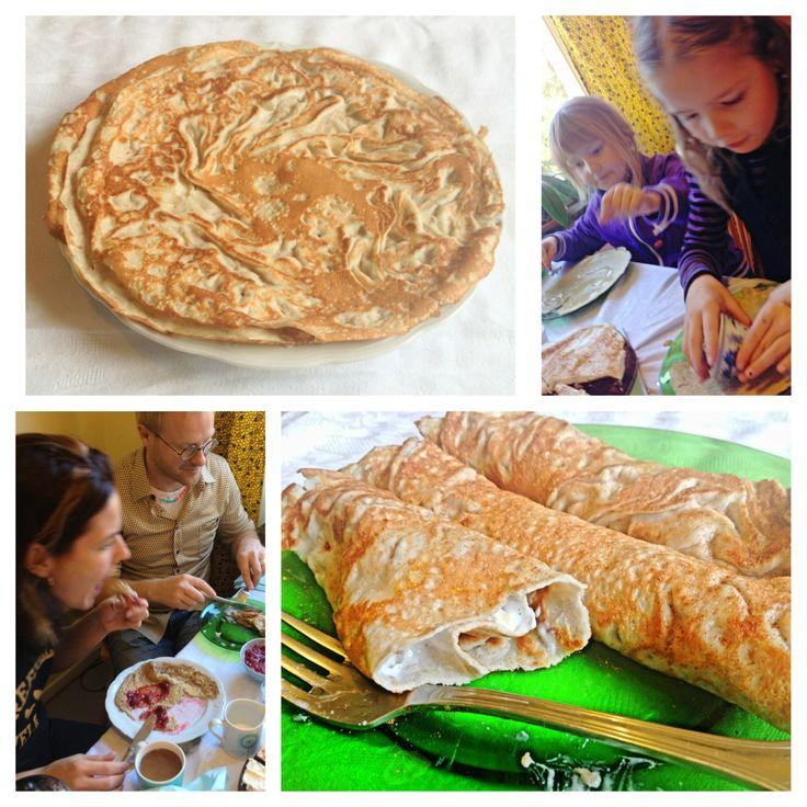 Pannkakor med bovete & mandelmjöl (paleo) | Nilla's Kitchen