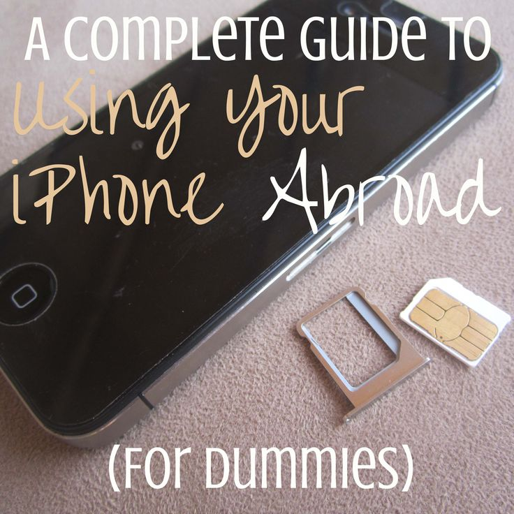 *From taking full advantage of Wi-Fi functions to unlocking and using an international SIM card to adding international service to your already existing plan, this post is the ultimate guide to using your iPhone abroad.