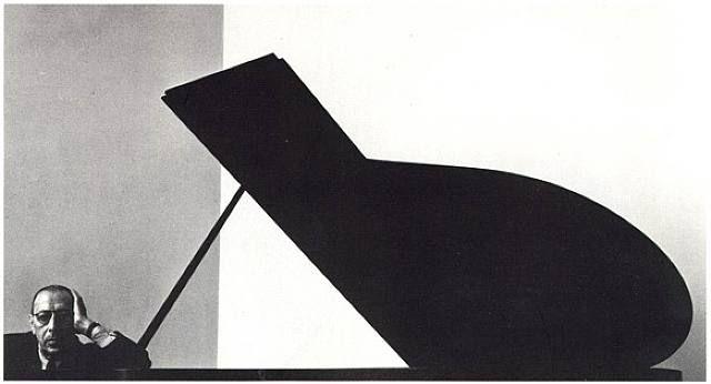 Igor Stravinsky by Arnold Newman, New York, 1946