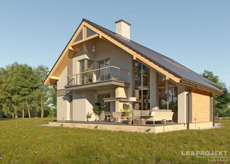 LK&674  #project #houseproject #house #modern #architecture #polisharchitecture #homesweethome #singlefamilyhouse #exterior #build #dreamhome #dreamhouse #design #villa #residence