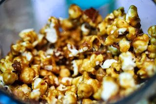 Bacon & Cashew Caramel Popcorn | Food | Pinterest