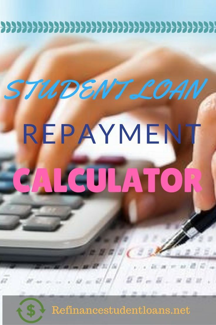 Calculate with us your student loan repayment