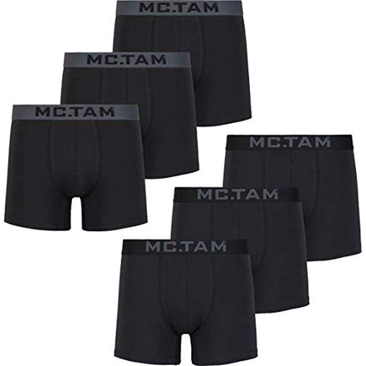 Mctam Herren Unterhosen Männer 95% Baumwolle Oeko-TEX Standard 100 #Bekleidung …  – Herren