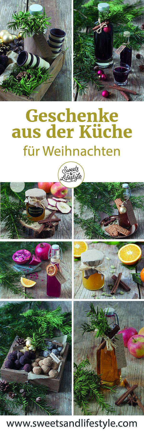Selbst gemachte Geschenke aus der Küche für Weihnachten // Sweets & Lifestyle …