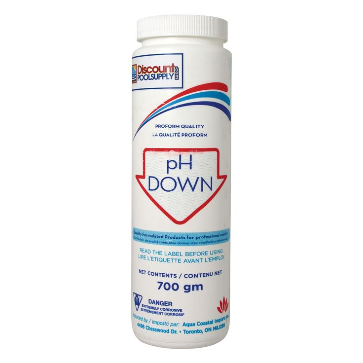 Use Our Ph Down To Lower The Ph Level Of Your Pool Or Spa Maintaining A Proper Ph Level In Your