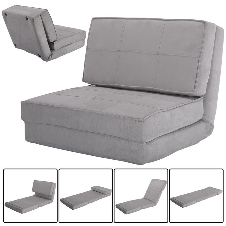 Convertible Lounger Folding Sofa Sleeper Bed  Furniture