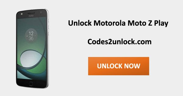 How to Carrier Unlock your Motorola Moto Z Play by Unlock Code so you can use with another Sim Card or GSM Network. Unlock your Motorola Moto Z Play fast & secure with the lowest price guaranteed. Quick and easy Motorola Unlocking with step by step Unlocking Instructions.