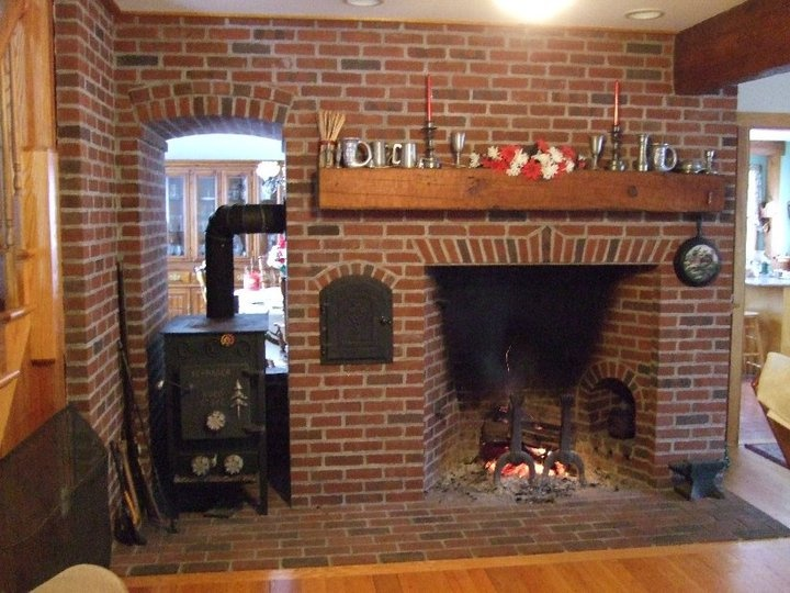 A Rumford With An Oven Fireplaces Pinterest