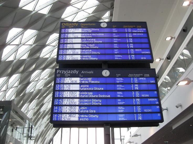 Poznan Poland, Dworzec Poznań Główny