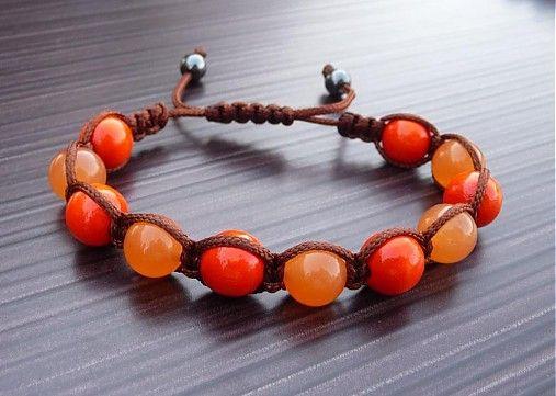 lukretia / Oranžový jadeit