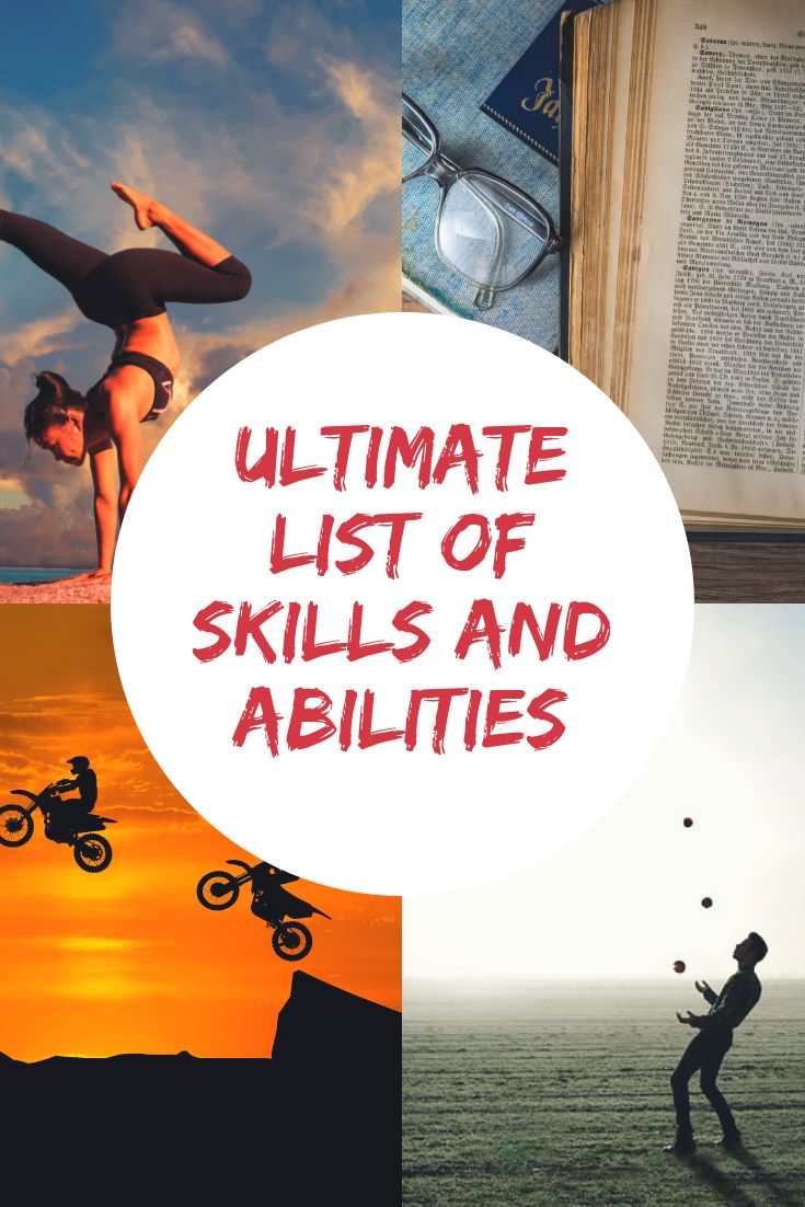 This is my ultimate list of skills and abilities which you can peruse in order t…