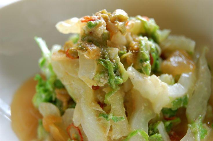こっくり☆白菜練り胡麻蒸し : vege dining 野菜のごはん