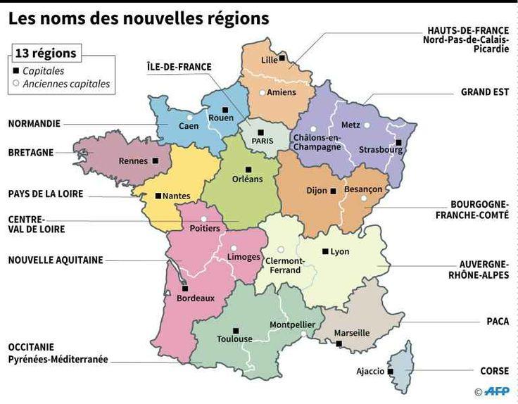 france regions 2017 - Photo