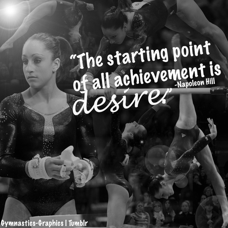 The starting point of all achievement is desire. -Napoleon Hill