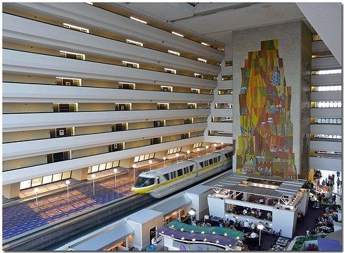 Contemporary Hotel Disney Monorail Vacation Club Pinterest Resorts And Stay