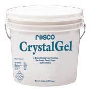 CrystalGel is a non-toxic, water-based material that provides a clear, plastic-like coating on virtually any surface used in modern stagecraft. It air dries quickly to a flexible, translucent surface. When dry, it can be painted, carved, safely rolled without cracking, peeling, sticking. Such products as sand, sawdust or powdered clay can be added to it to create unique textures. Contact Denver@Norcostco.com. #rosco #paint #diy #theatre #theater #homedecor