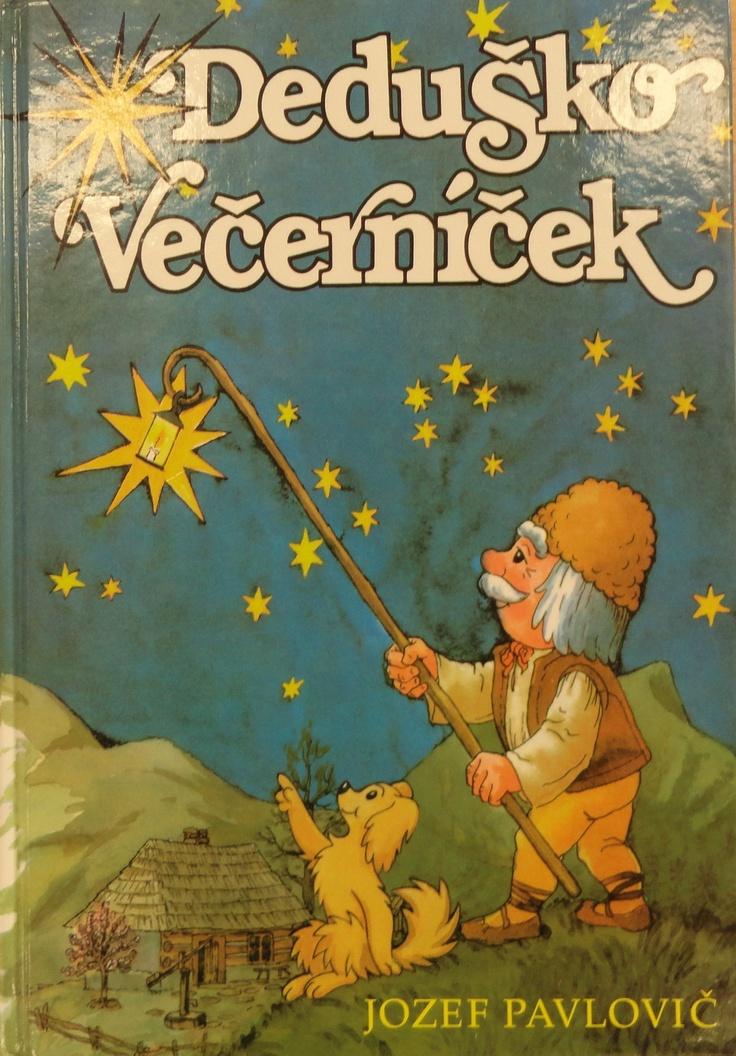 Miško's favourite book Deduško Večerníček.