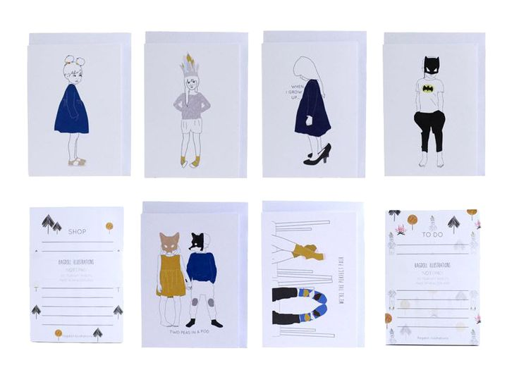 Ragdoll Illustrations -http://madefromscratch.co.nz/ragdoll-illustrations/#.UfBVSGSbeoU