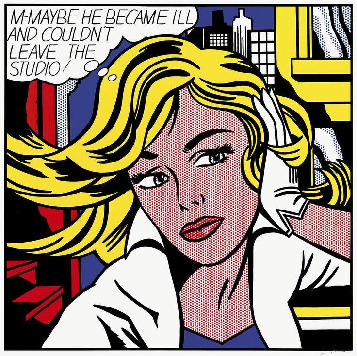 I love Roy Lichtenstein