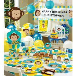 20 Best Images About Monkey Party On Pinterest Mod Monkey Birthday Sock Monkeys And Monkey
