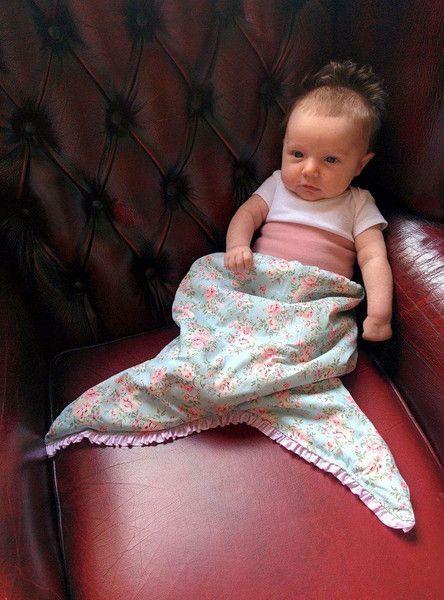 Schlafsäcke - Meerjungfrauenschwanz // Schlafsack - ein Designerstück von GangOfLittleRascals bei DaWanda