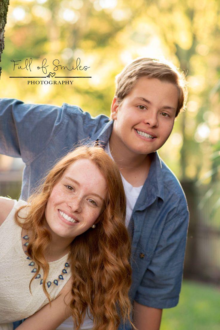 35 best Senior Portraits | Teen Siblings images on