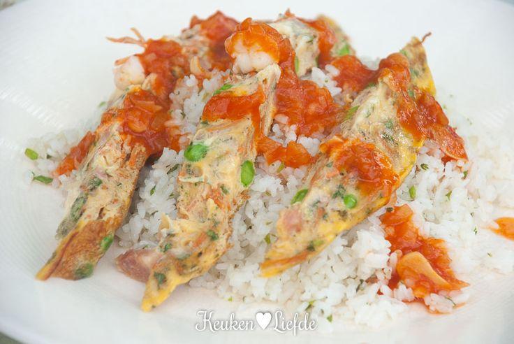 Foe yong hai met gebakken rijst - Keuken♥Liefde