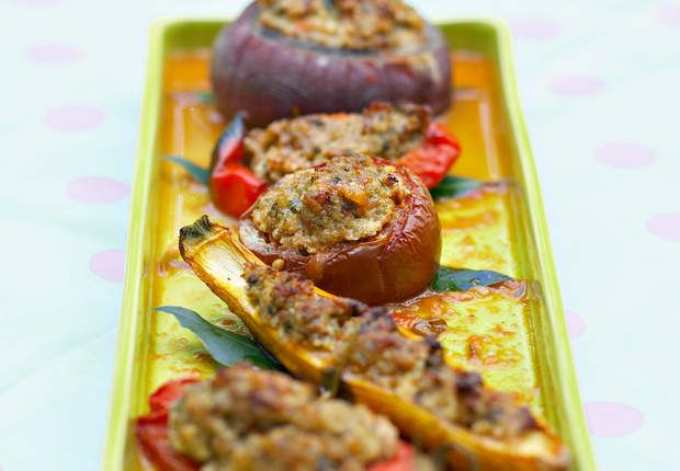 Légumes farcis facileVoir la recette des Légumes farcis facile >>