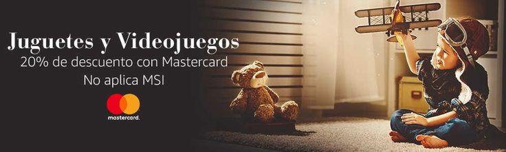 Amazon 20% de descuento en Juguetes y Videojuegos con Mastercard