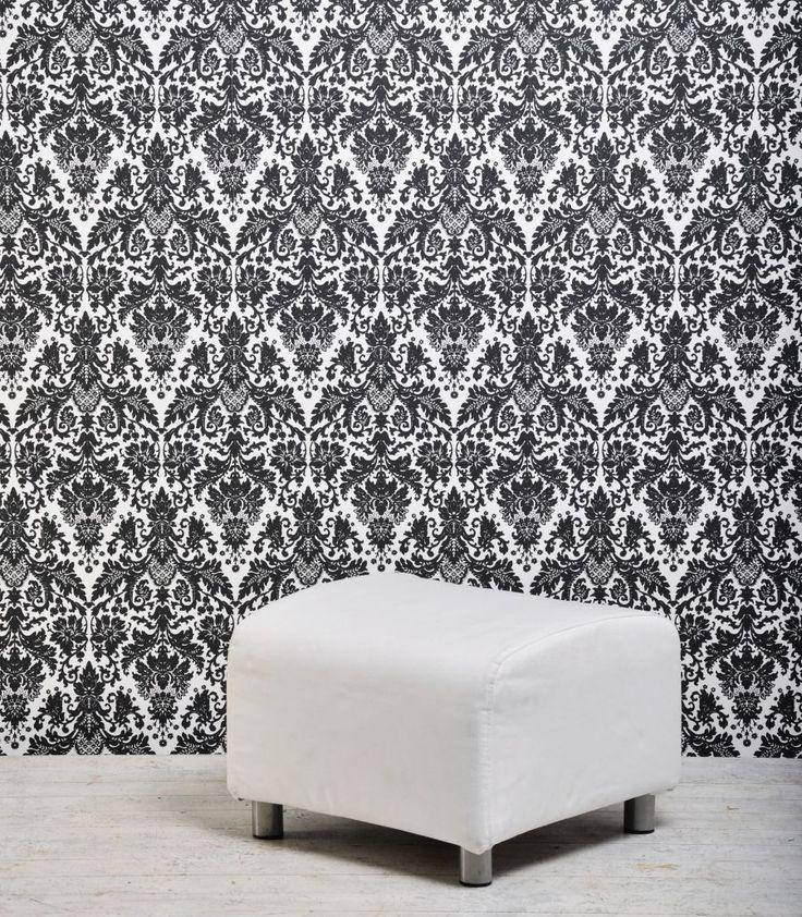 Czarno Biała fototapeta w salonie