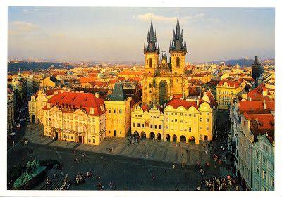 """CZECH REPUBLIC (Prague) - The Old Town Square of Prague - part of """"Historic Centre of Prague"""" (UNESCO WHS)"""
