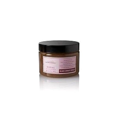 Bath & Body Works Aromatherapy Sensual Sugar Scrub 13 Fl Oz - Black Currant Vanilla by Bath & Body Works. $21.95. Awaken your senses. Black Currant Absolute inspires heightened sensuality. Vanilla Absolute soothes and calms to instill feelings of comfort. This skin softening scrub combines exfoliating Sugar and a special moisturizing blend to leave skin silky smooth.. Save 10%!