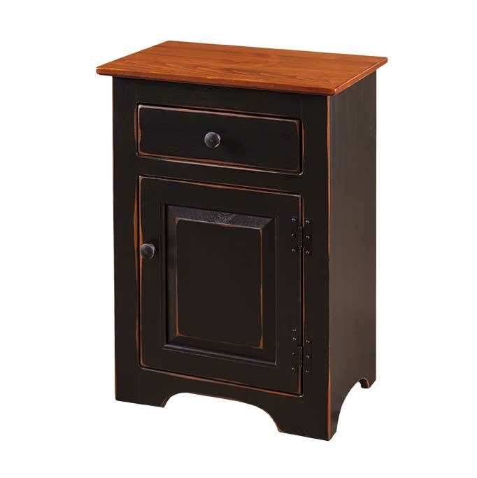 Gothic Cabinet Craft - Nightstand With Raised Panel Door, $189.00 (http://www.gothiccabinetcraft.com/nightstand-with-raised-panel-door/)