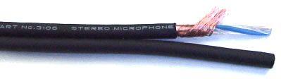 MOGAMI W3106 - Câble stéréo Micro comportant 2 paires  Le câble Mogami W3106 est parfait de part sa structure et sa composition pour le recâblage de casques Audio.