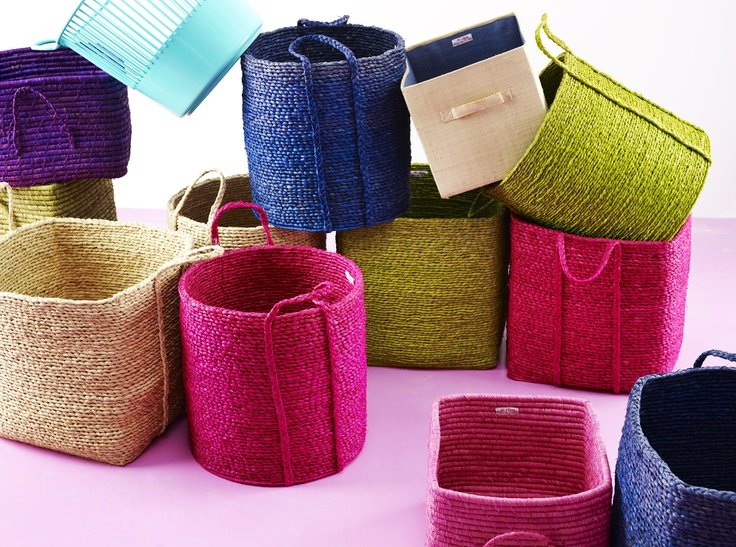 Raffia Baskets from RICE