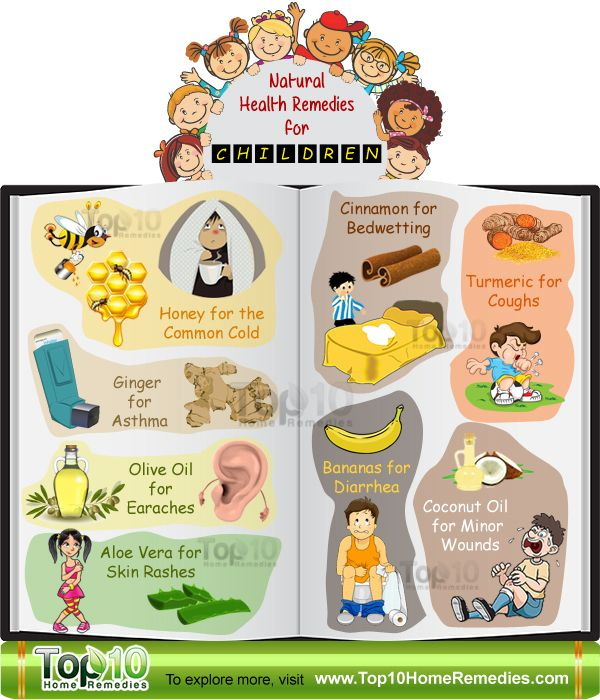 Top 10 Natural Health Remedies For Children