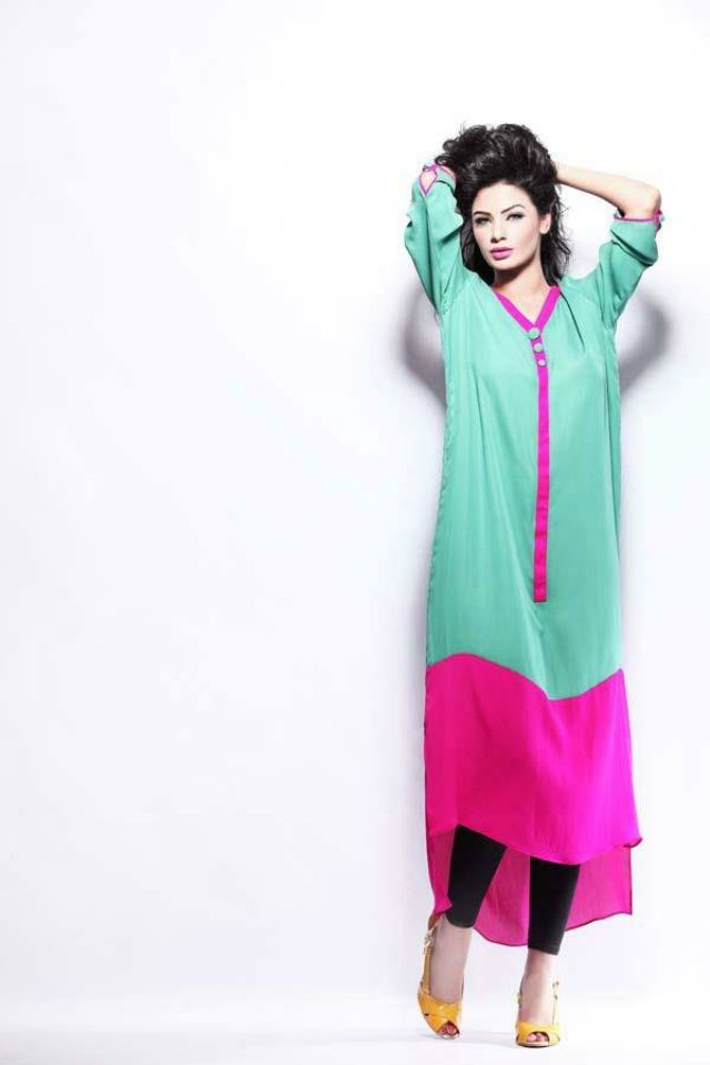 Wonderful LatestPakistaniCasualDressesDesigns2016ForWomen0012333x500jpg