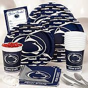 Stock up on Penn State party supplies for your sports theme party. From tableware to decor, guests will know the team you're rooting for when they see all the Penn State goodies!